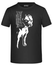 APBT Streetwear BIG PIT KID póló fekete