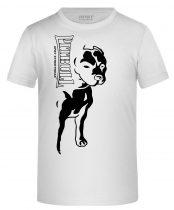 APBT Streetwear BIG PIT KID póló fehér