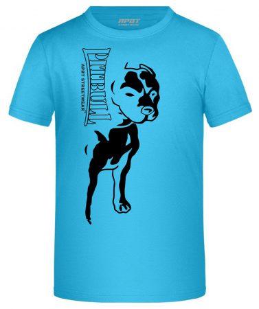 APBT Streetwear BIG PIT KID póló türkiz