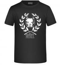 APBT Streetwear PITBULL DIVISION KID póló fekete