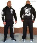 APBT Streetwear PIT BULL REAL FIGHTER szabadidőruha fekete