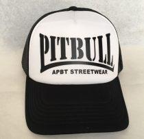 APBT Streetwear PITBULL - TRUCKER CAP / fekete-fehér
