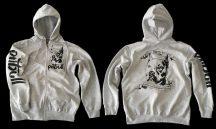 APBT Streetwear PIT BULL REAL FIGHTER pulóver szürke