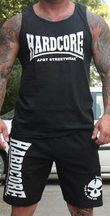 APBT streetwear HARDCORE szett fekete