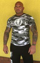 APBT Streetwear PITBULL SOLDIER póló fehér