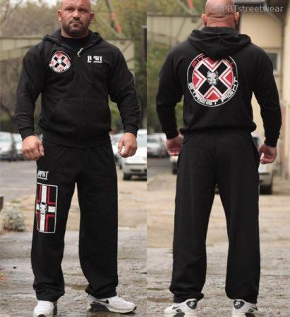 APBT Streetwear PIT BULL REALM szabadidőruha fekete
