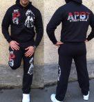 APBT Streetwear PIT BULL ICON szabadidőruha fekete