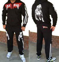 APBT Streetwear PIT BULL Old School szabadidőruha fekete