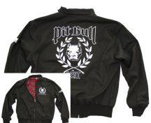 APBT Streetwear PIT BULL DIVISION Harrington jacket fekete
