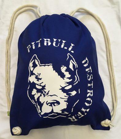 APBT Streetwear PITBULL DESTROYER Gymsac Kék