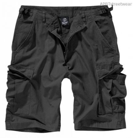 BDU Ripstop short (fekete)