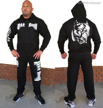 APBT Streetwear PIT BULL ULTIMATE szabadidőruha fekete