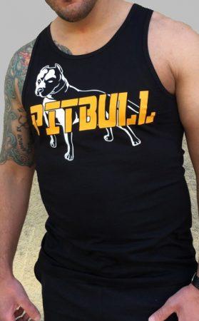 APBT Streetwear PIT BULL GREAT FIGHTER trikó FEKETE