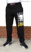 APBT Streetwear PIT BULL THOR szabadidő nadrág fekete