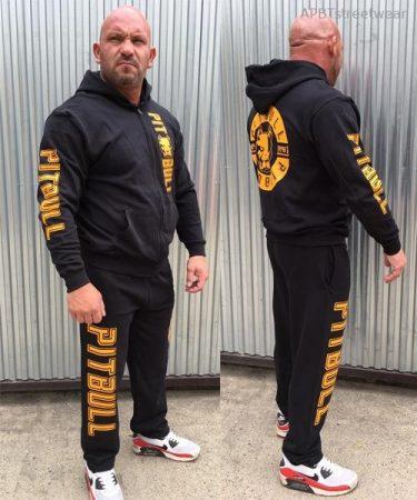APBT Streetwear PITBULL VITALITY szabadidőruha fekete/sárga