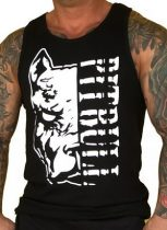 APBT Streetwear PIT BULL DESTROYER Trikó fekete