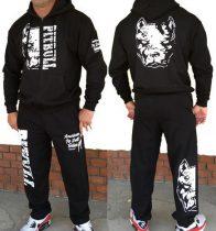 APBT Streetwear PIT BULL DESTROYER szabadidőruha fekete