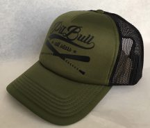 APBT Streetwear PITBULL - TRUCKER CAP - oliva/fekete