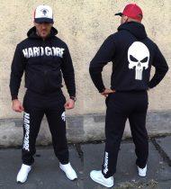 APBT Streetwear HARDCORE Underground szabadidőruha fekete/fehér