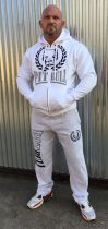 APBT Streetwear PITBULL DUAL szabadidőruha fehér-szürke
