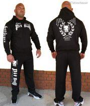 APBT Streetwear PIT BULL DIVISION szabadidőruha fekete