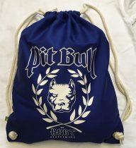 APBT Streetwear PIT BULL DIVISION Gymsac Kék