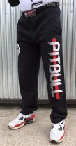 APBT Streetwear PIT BULL REDLINE szabadidő nadrág fekete