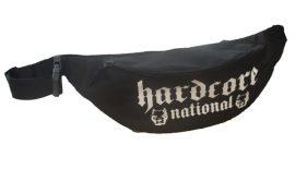 APBT Streetwear HARDCORE NATIONAL övtáska fekete