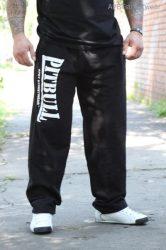 APBT Streetwear PITBULL FEELING szabadidő nadrág fekete