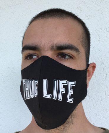 THUG LIFE szájmaszk