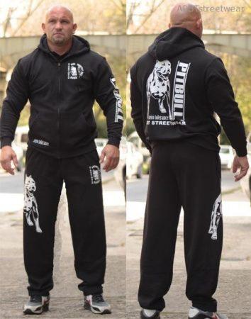 APBT Streetwear PIT BULL Zero T szabadidőruha fekete
