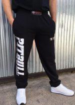 APBT Streetwear PIT BULL SPORT Szabadidőnadrág BLACK/GOLD