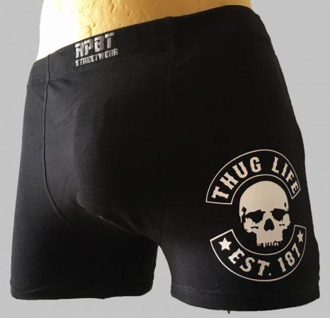 APBT Streetwear THUG LIFE boxer alsónadrág M - 7XL-ig