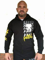 APBT Streetwear PIT BULL THOR pulóver fekete