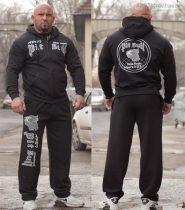 APBT streetwear BEWARE OF PIT BULL szabadidőruha fekete