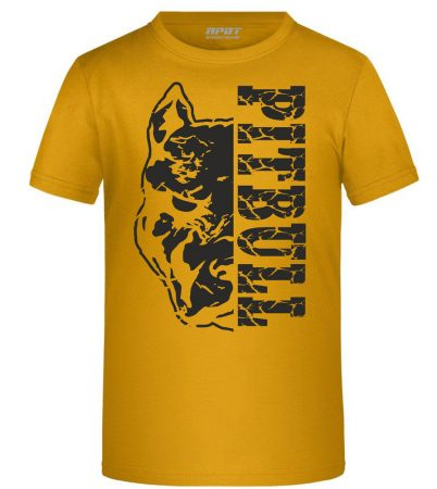 APBT Streetwear PITBULL DESTROYER KID póló SÁRGA