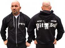 APBT Streetwear PIT BULL ACTIVE  pulóver fekete