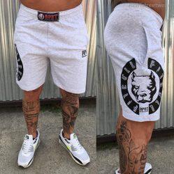 APBT streetwear VITALITY short szürke-fekete