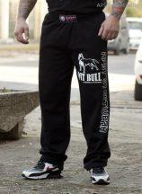 APBT streetwear PIT BULL CHAMPION nadrág fekete