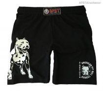 APBT streetwear PIT BULL Zero T short fekete