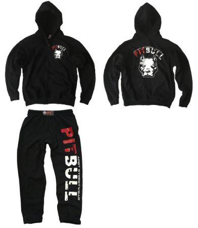 APBT Streetwear PIT BULL BIGGER szabadidőruha fekete