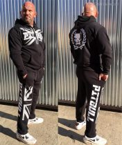 APBT Streetwear PITBULL BRITISH STYLE szabadidőruha fekete