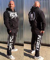 APBT Streetwear PIT BULL BRITISH STYLE szabadidőruha fekete