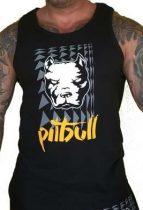 APBT Streetwear PITBULL THOR trikó fekete