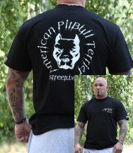 APBT Streetwear HEAD póló FEKETE