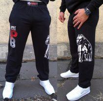 APBT Streetwear PIT BULL ICON   nadrág fekete