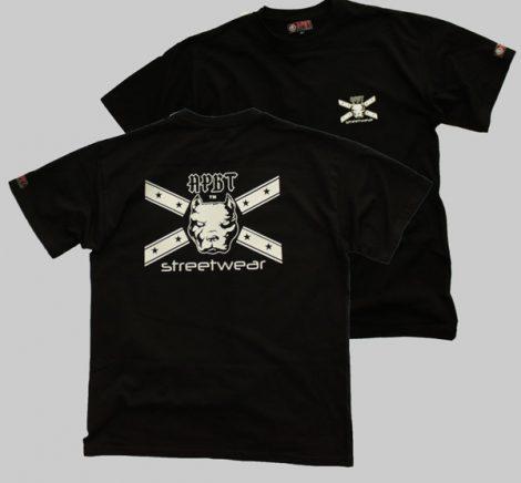 APBT Streetwear GENERAL póló fekete