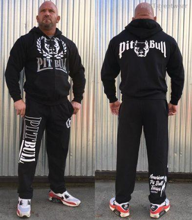 APBT Streetwear PITBULL DUAL szabadidőruha fekete