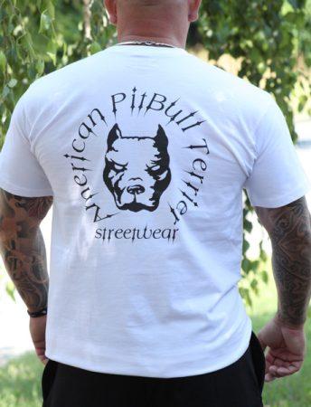 APBT Streetwear HEAD póló fehér