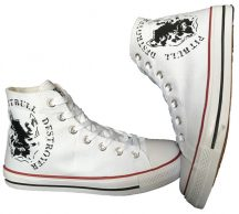 APBT Streetwear DESTROYER tornacipő fehér
